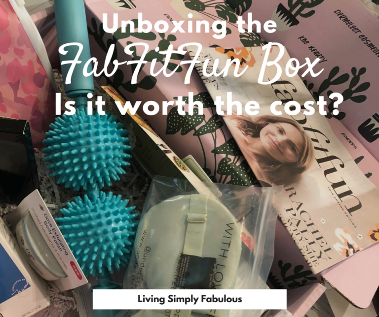 Have you always wanted to try the FabFitFun subscription box, but didn't know if it was worth the cost? I unbox the products in the Spring 2018 box and show in detail all the goodies you can find in each and every box. Find full sized fashion, beauty, fitness, and wellness products you will love.