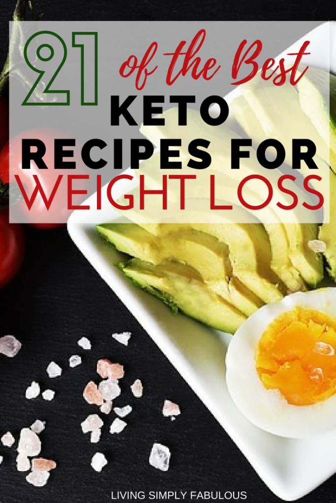 Looking for tasty recipes to keep you motivated on a ketogenic diet? If so, here are 21 of the best keto recipes for weight loss to try it.