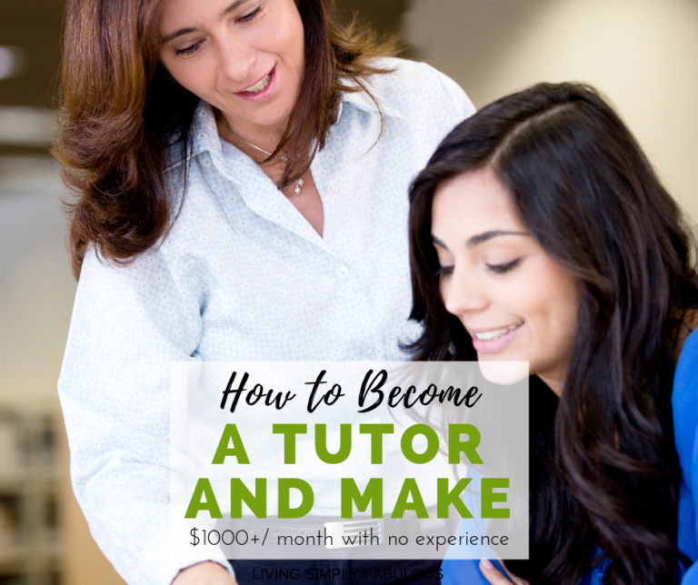 Tutoring is a timeless side hustle where you can make money by helping others for years to come. If you have the skills necessary to help someone be successful in school or on a test, you will make a great tutor.
