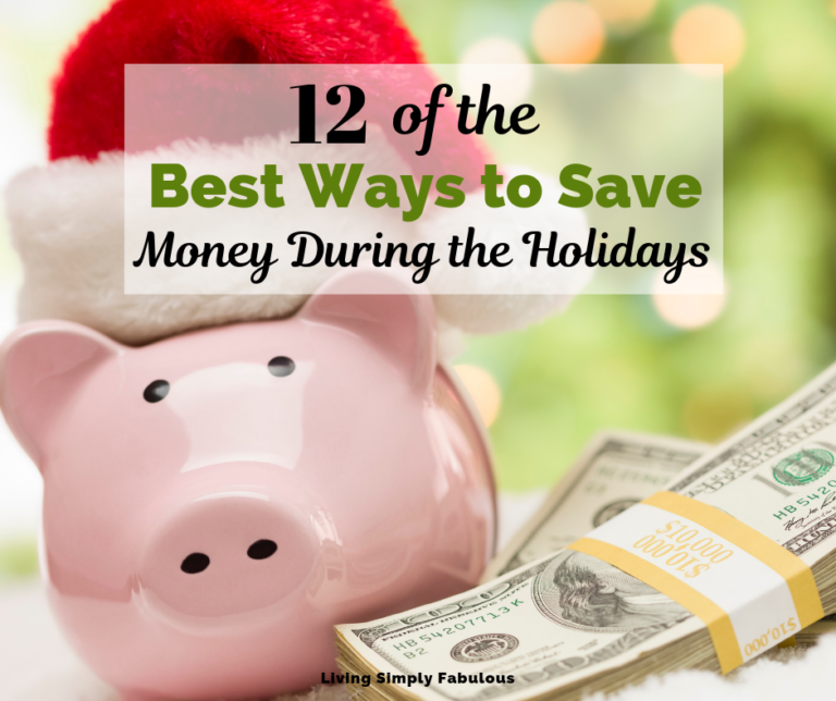 Don't bust your Christmas budget this year. Get a hold of your finances and create a plan you can live with it, even after the holidays are over. Here are 12 of the best ways to save money during the holidays. Make your family and wallet happy this year.