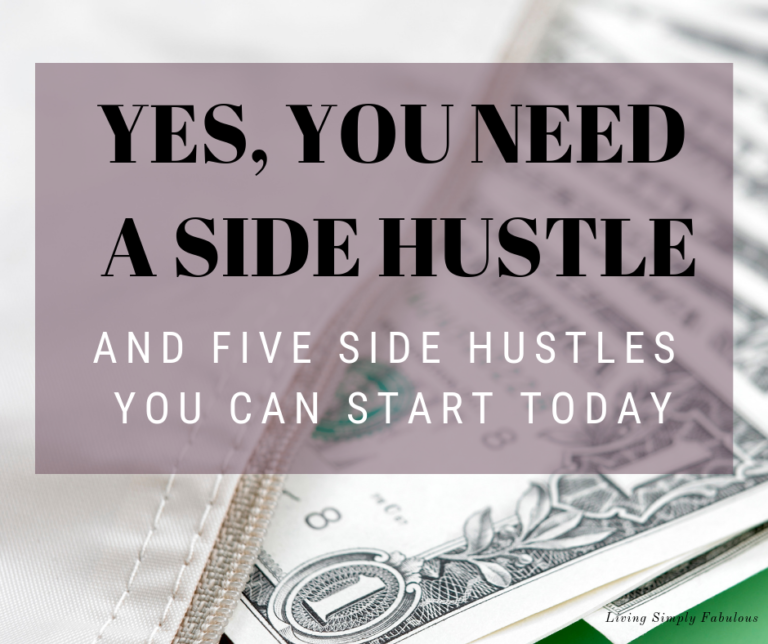 Why do you need a side hustle? If you are employed, unemployed, or under-employed, you may need a side hustle. A side hustle is a way to make money that is a part from your regular job. It's a way to bring in extra income to pay down debt or increase your savings.